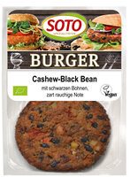 Cashew Burger Black Bean