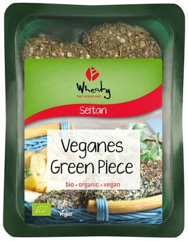 Wheaty Veganes Green Piece