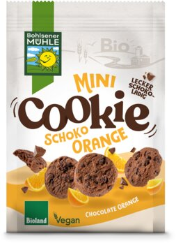 Mini Cookie Schoko Orange
