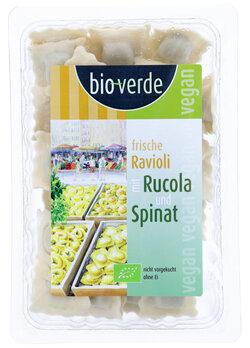 Ravioli Rucola-Spinat-Fllung   vegan