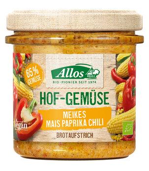Hof-Gemüse Meikes Mais Paprika Chili