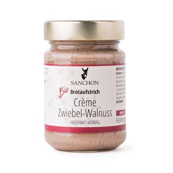 Brotaufstrich Crème Zwiebel-Walnuss, Sanchon