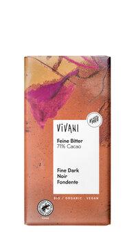 Schokolade Feine Bitter 71 %, Vivani