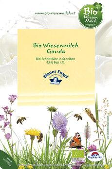 Gouda Scheiben   Bio Wiesenmilch / Blauer Engel - Laktosefrei
