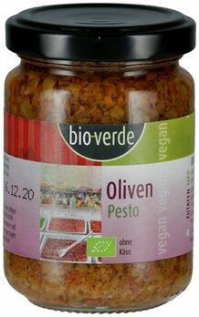 Oliven Pesto vegan   kalt verarbeitet,nicht erhitzt