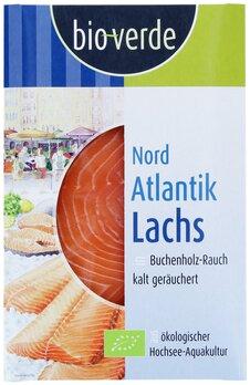 Nordatlantik Lachs geräuchert   mit Buchenholzrauch geräuchert