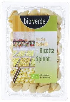 Tortelli mit Ricotta & Spinat   Frische Tortelli Ricotta-Spinat-Fllung