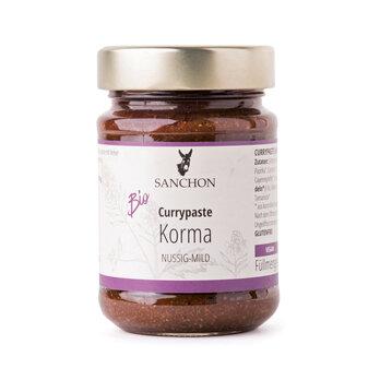 Currypaste Korma, Sanchon