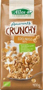 Knusper-Müsli Amaranth Crunchy Edelnuss