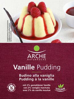 Vanille Pudding, glutenfrei