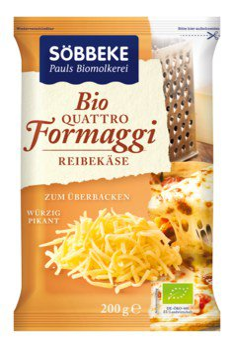 Quattro formaggi Reibekäse