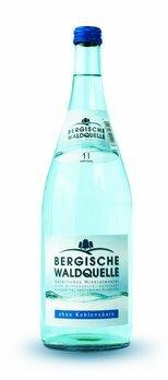 Berg. Waldq. Mineralwasser still, Glas