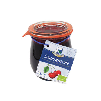 Bio Fruchtaufstrich Sauerkirsche