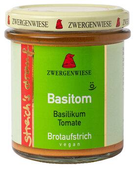Streich's drauf Basitom   Basilikum-Tomate Aufstrich