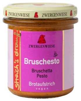 Streich's drauf Bruschesto   Bruschetta-Pesto Aufstrich