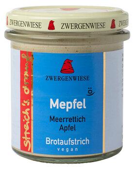 Streich's drauf Mepfel   Meerrettich-Apfel Aufstrich