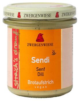 Streich's drauf Sendi   Senf-Dill Aufstrich