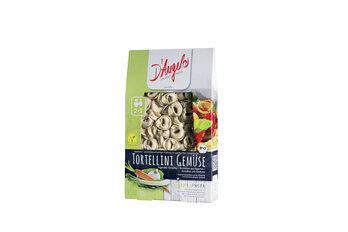 Tortellini Gemüse, Teigware mit gemüsehaltiger Füllung