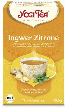 Yogi Tee Ingwer Zitronen TB