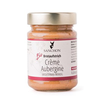 Brotaufstrich Crème Aubergine, Sanchon