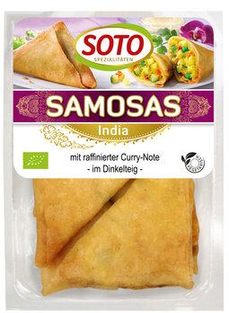 Samosas - indische Gemüse-Ecke   2 Stück