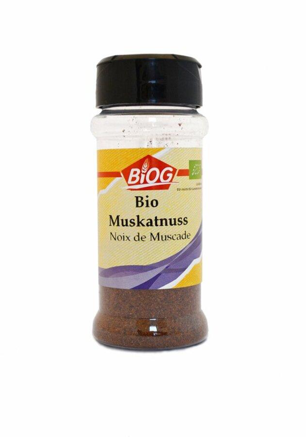 Biogros Muskatnuss Gemahlen
