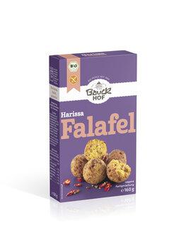 Harissa Falafel glutenfrei Bio