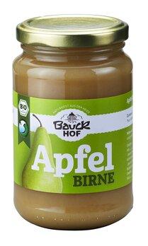 Apfel-Birnenmark ungesüßt Bio