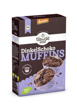 Dinkel Muffins Schoko Demeter