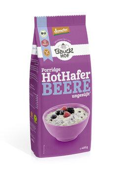 Hot Hafer mit Beere glutenfrei Demeter
