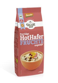 Hot Hafer Früchte glutenfrei Demeter