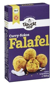 Falafel Curry-Kokos Bio glutenfrei