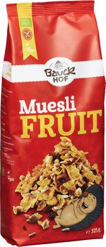 Muesli fruit International glutenfrei Bio