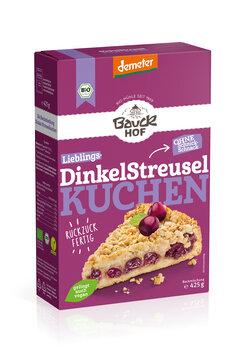 Dinkel Streuselkuchen Demeter