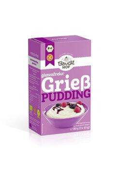 Grießpudding glutenfrei Bio