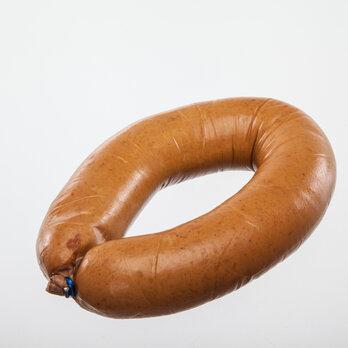 Geflügelfleischwurst mit Rindfleisch  im Ring