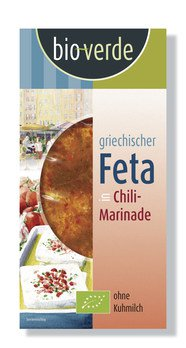 Feta in Chili-Marinade